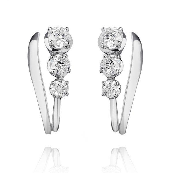 forever unique mio orecchini con diamanti IIDGR
