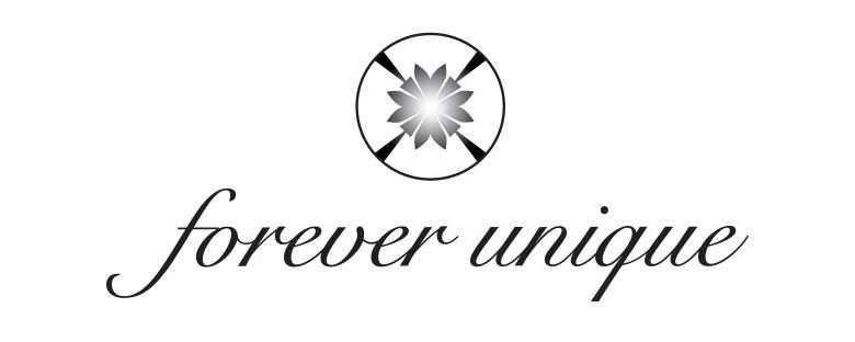Forever Unique Diamanti Tracce D'oro Gioielli Logo