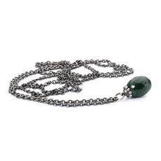 Collana D'argento con Malachite Trollbeads
